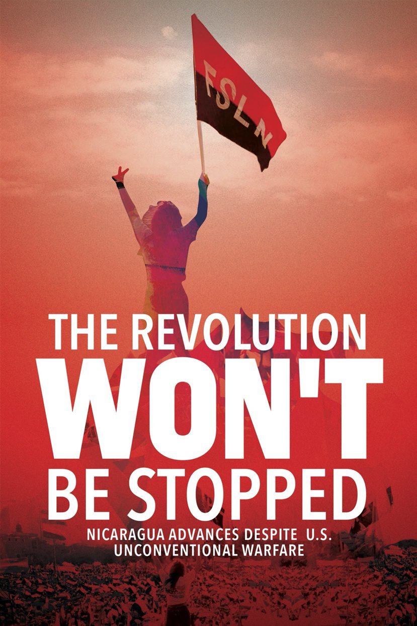 The Revolution won't be stopped book cover