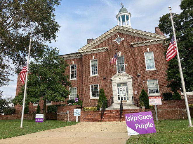 Islip Goes Purple