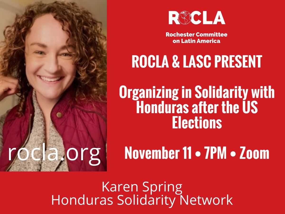 Organizing in Solidarity with Honduras after the US Elections